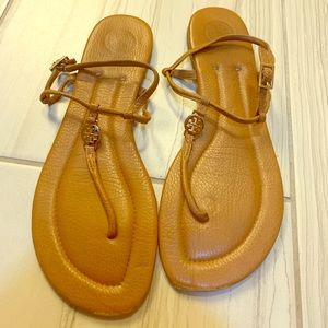 Tory Burch brown sandals - size 9